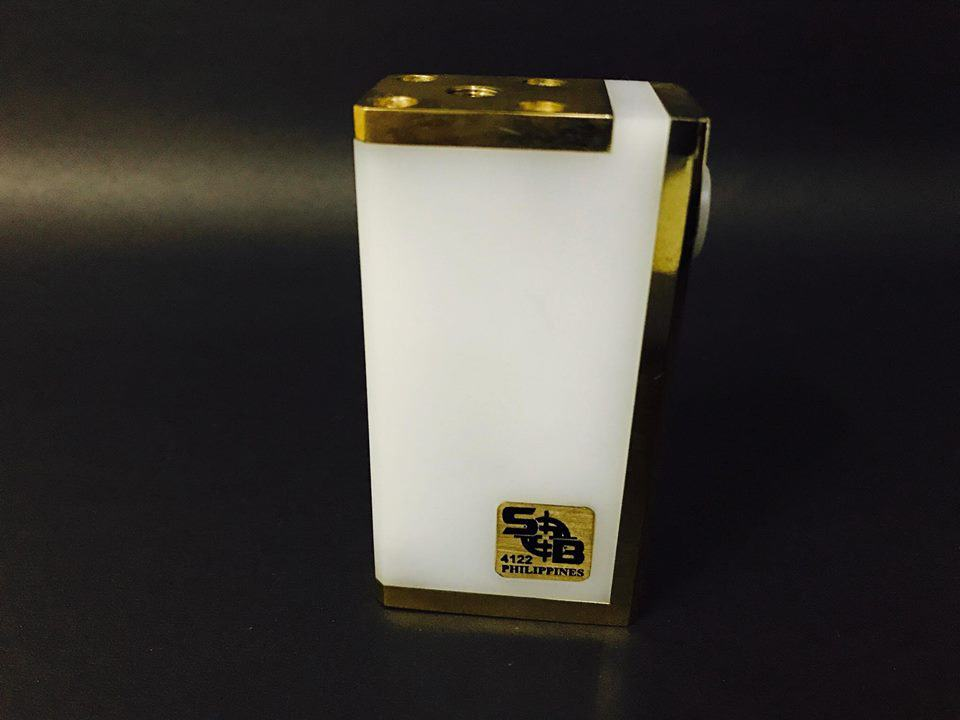 SOB Mini Box Mod by SOB Philippines