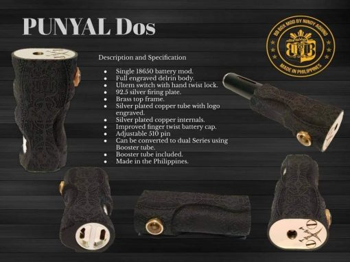 Punyal Dos by BBBox Mods