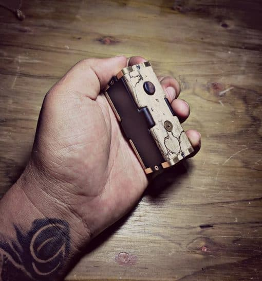 Puzzled Fully Mechanical Box Mod