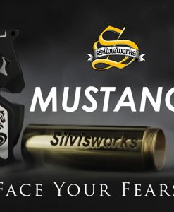 Mustang X 21700 Full Mechanical Vape Mod